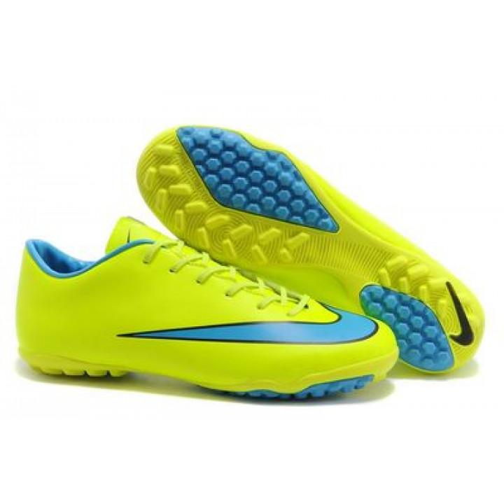 Сороконожки Nike mercurial, желтый